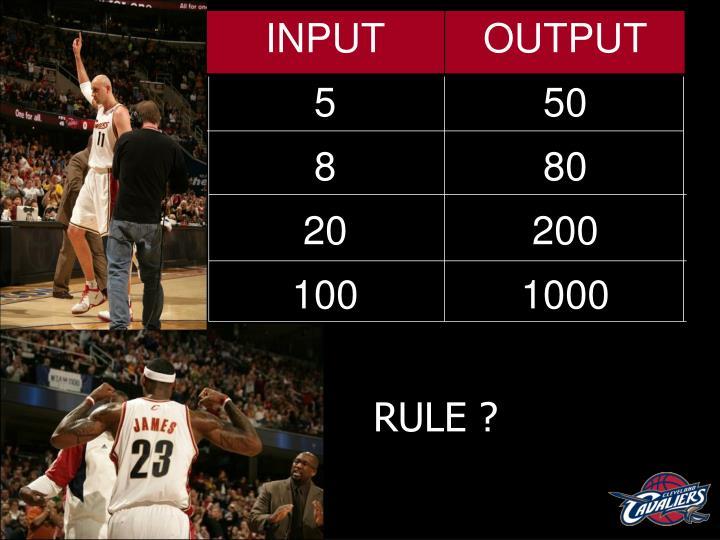 RULE ?