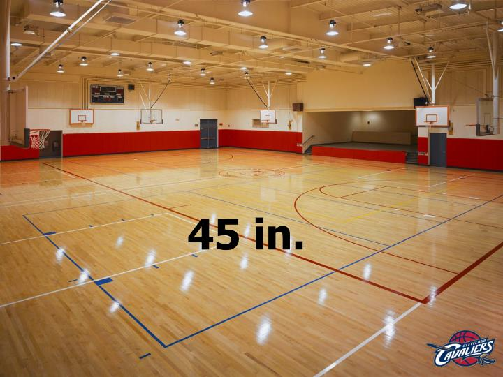 45 in.