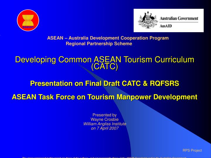 ASEAN – Australia Development Cooperation Program