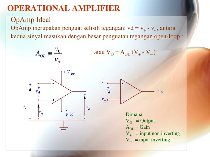 Operational amplifier1