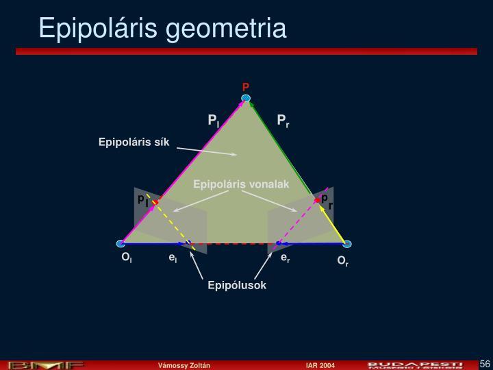Epipoláris geometria