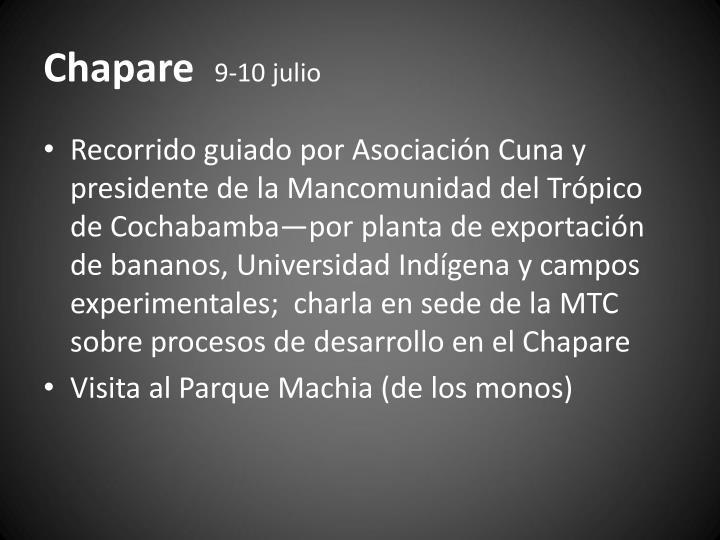 Chapare