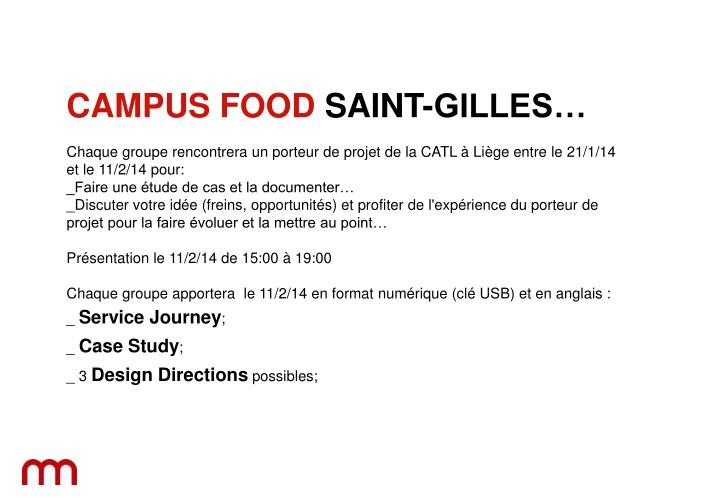 campus food case study