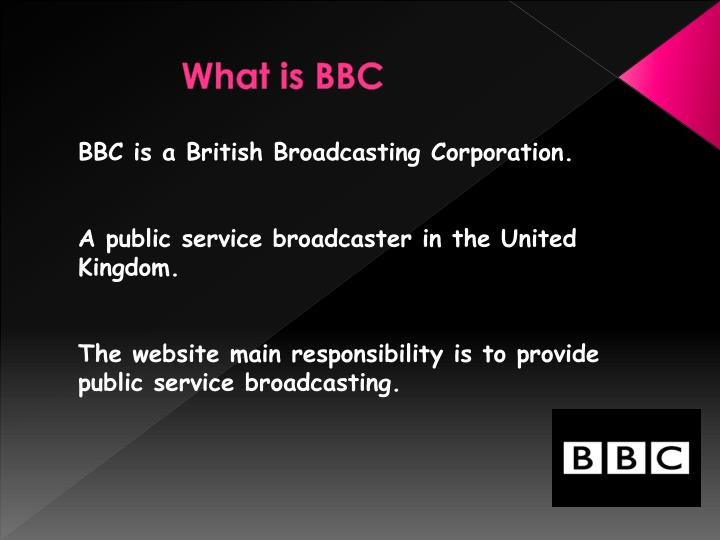 What is bbc