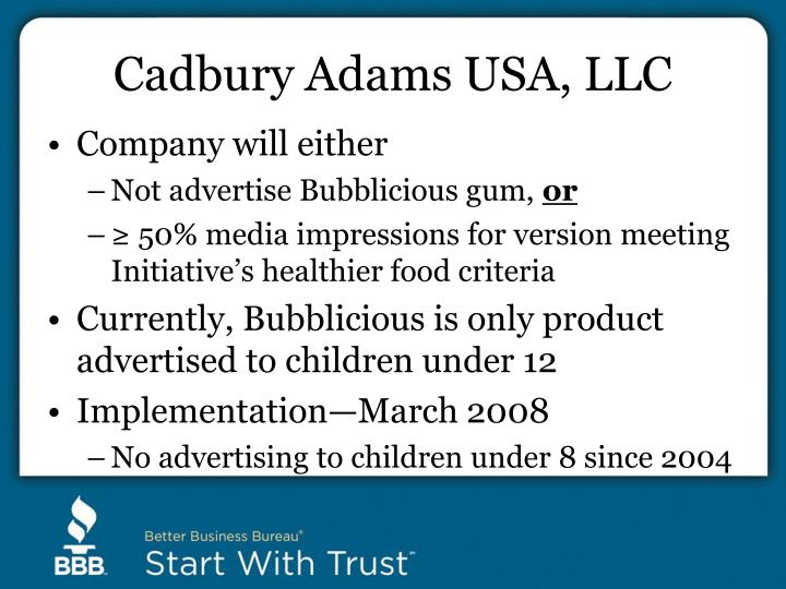 Cadbury Adams USA, LLC