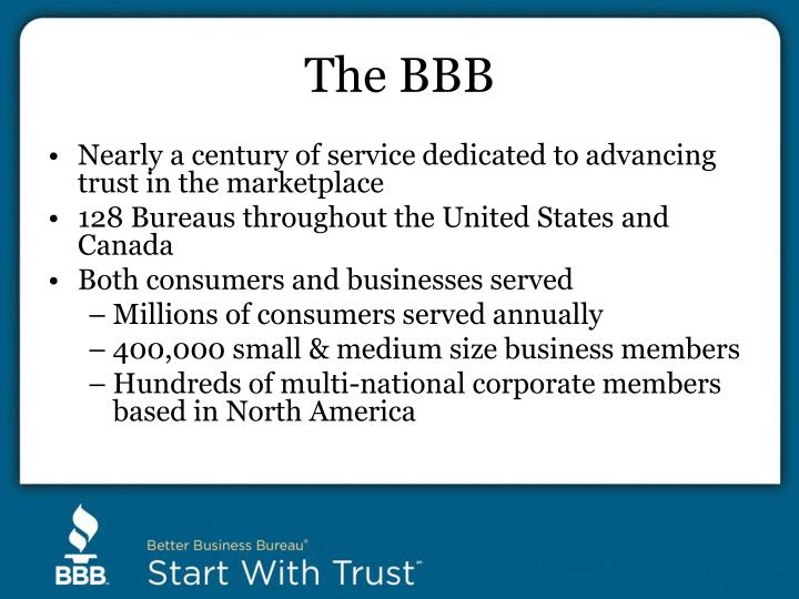 The BBB