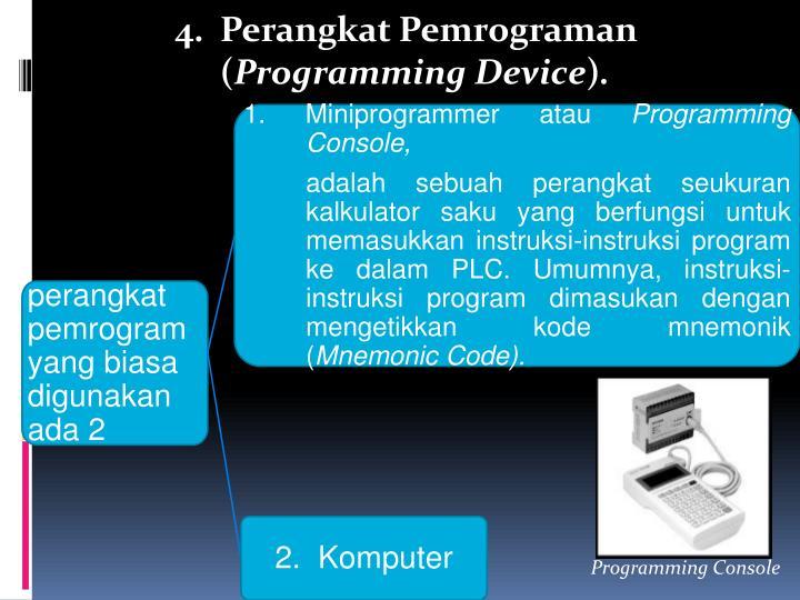 Perangkat Pemrograman (