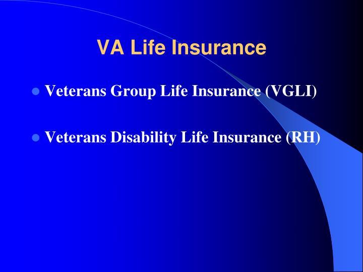 VA Life Insurance