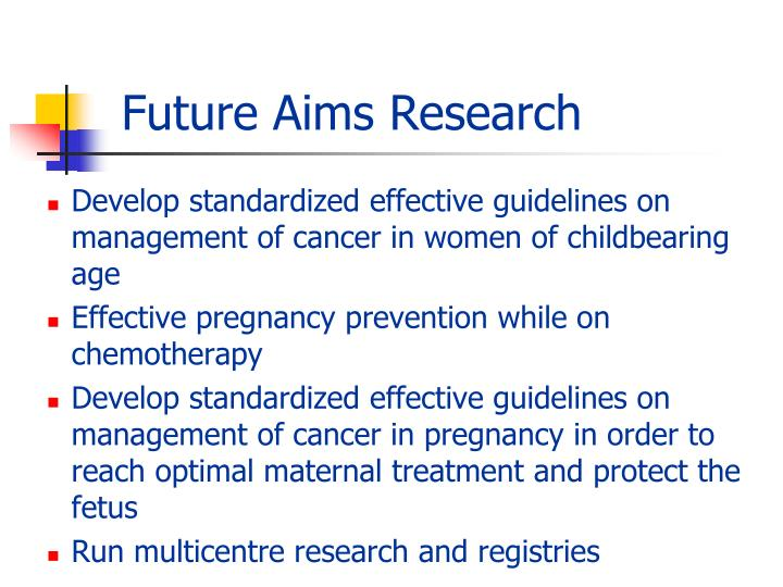 Future Aims Research