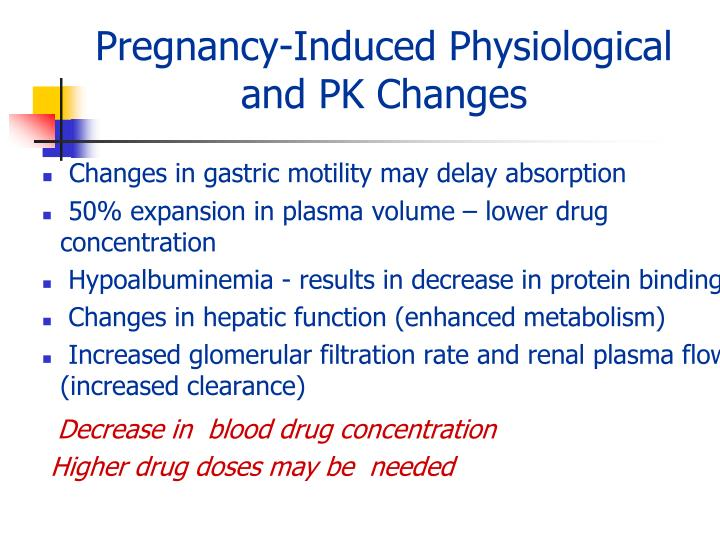 Pregnancy-Induced Physiological
