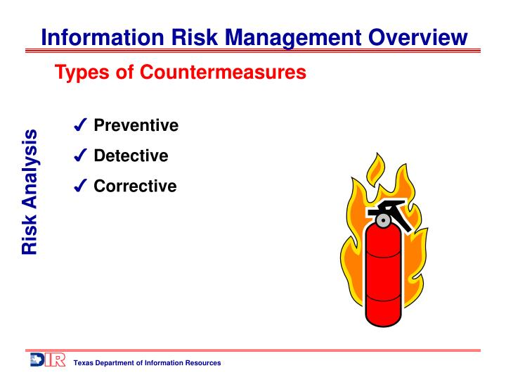 Types of Countermeasures