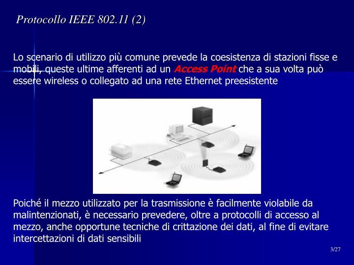 Protocollo IEEE 802.11 (2)