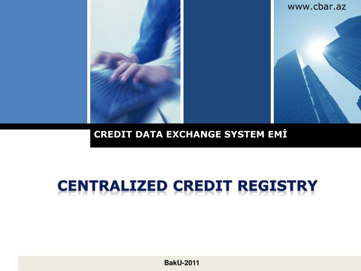 credit data exchange system em