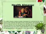 health almanac