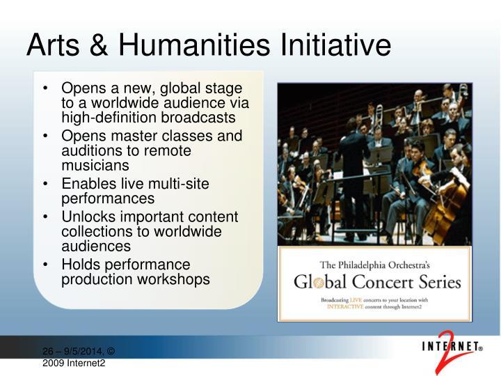 Arts & Humanities Initiative