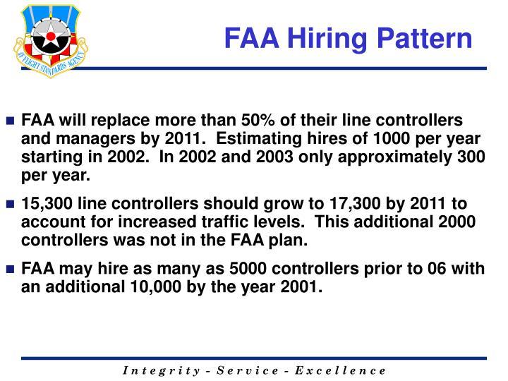 FAA Hiring Pattern