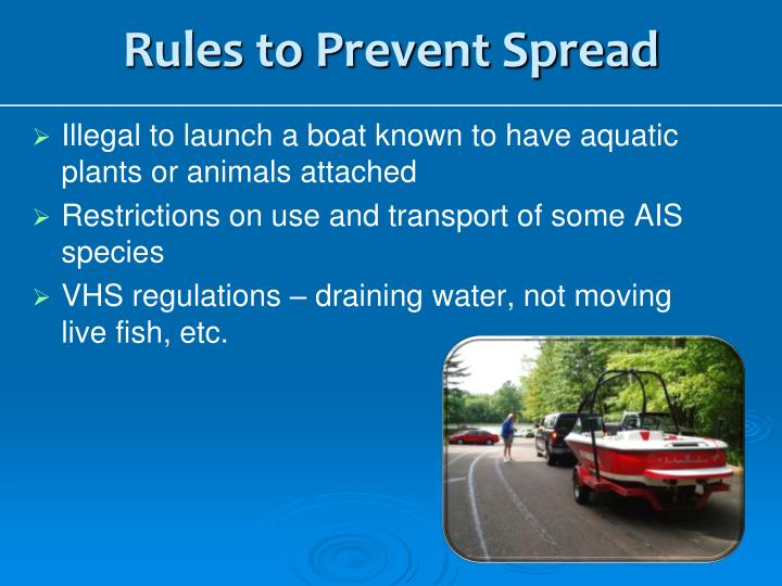 Rules to Prevent Spread