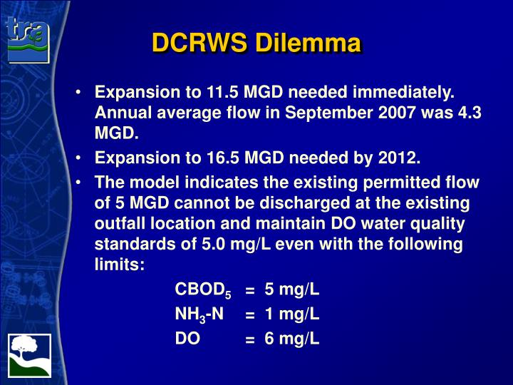 DCRWS Dilemma