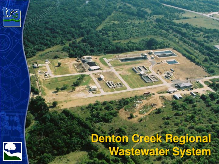 Denton creek regional wastewater system