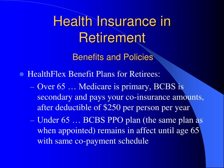 Health Insurance in Retirement