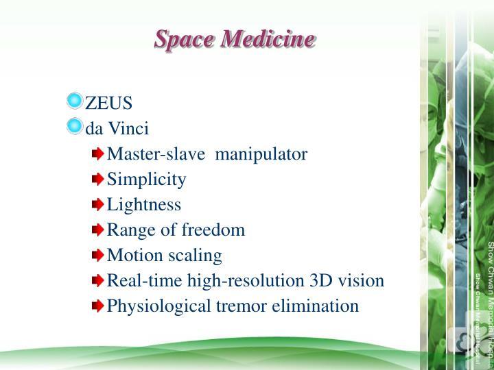 Space Medicine