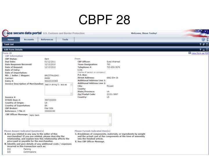 CBPF 28