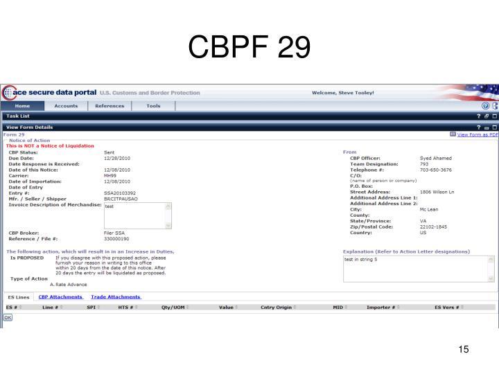 CBPF 29