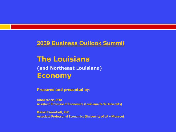 2009 Business Outlook Summit