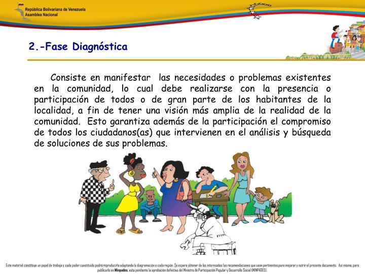 2.-Fase Diagnóstica