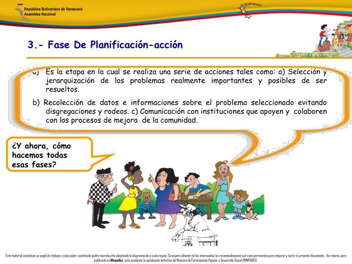 3.- Fase De Planificación-acción