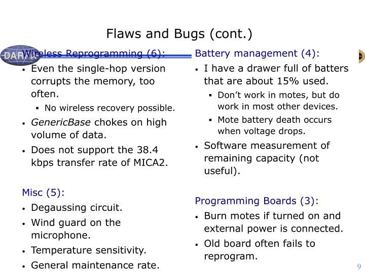 Wireless Reprogramming (6):