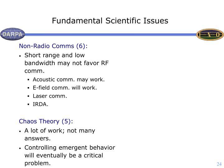 Non-Radio Comms (6):