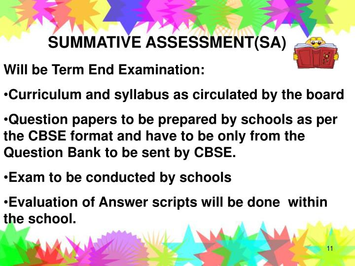SUMMATIVE ASSESSMENT(SA)