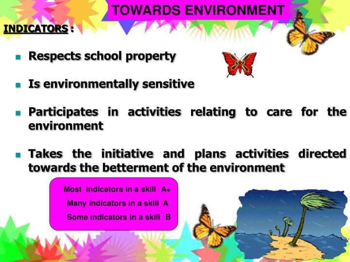 TOWARDS ENVIRONMENT