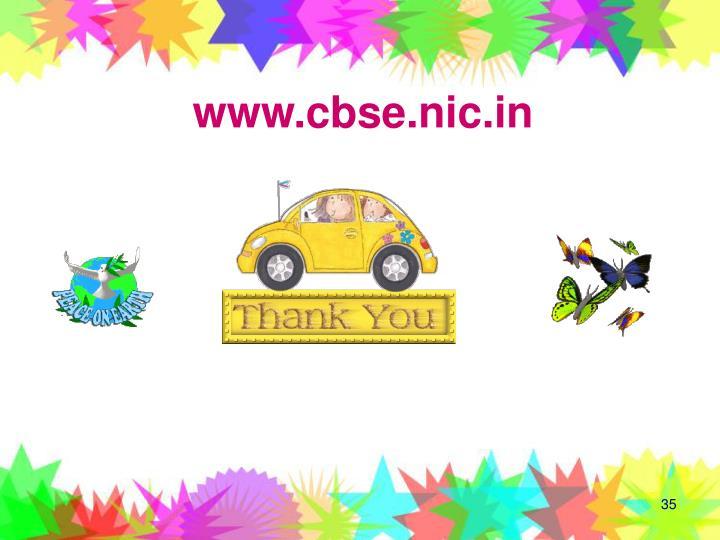 www.cbse.nic.in