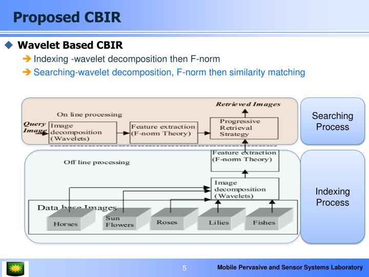 Proposed CBIR