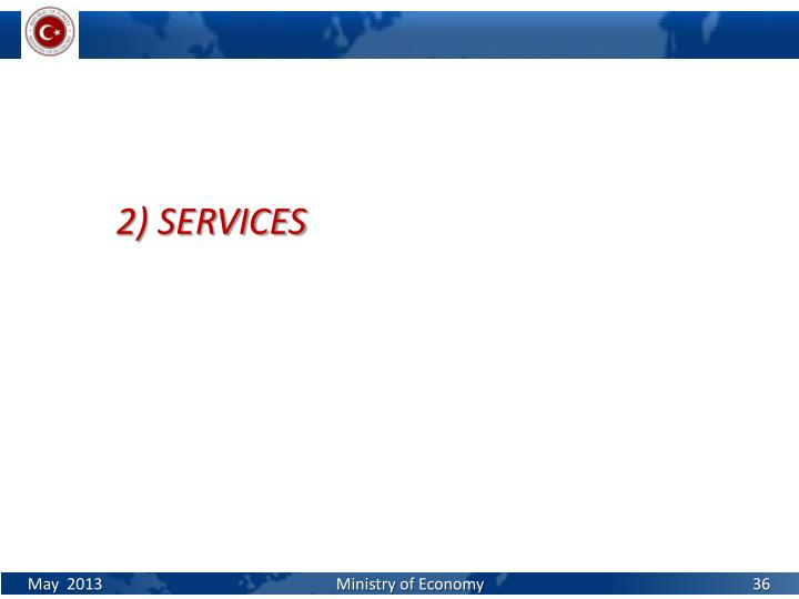 2) SERVICES