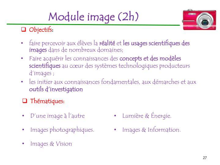 Module image(2h)