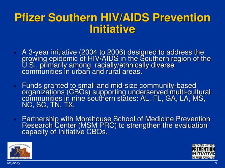 Pfizer Southern HIV/AIDS Prevention Initiative