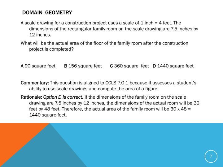 Domain: Geometry
