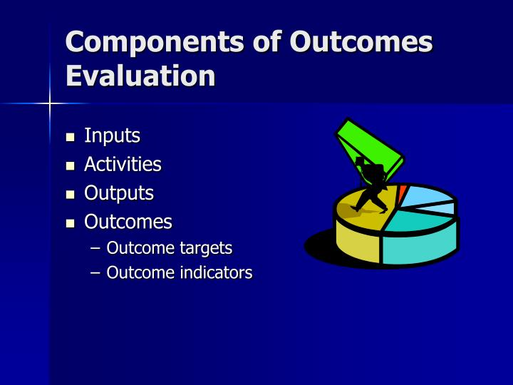 Components of Outcomes Evaluation