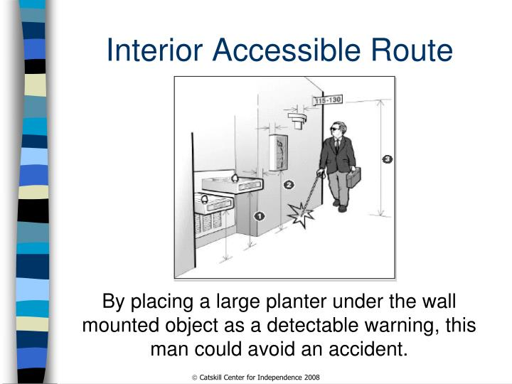 Interior Accessible Route