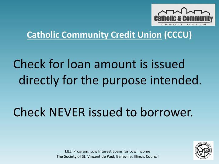 Catholic Community Credit Union