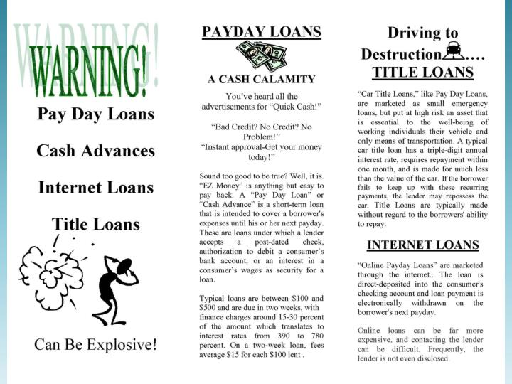 LILLI Program: Low Interest Loans for Low Income