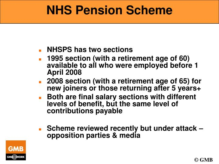 Nhs pension scheme