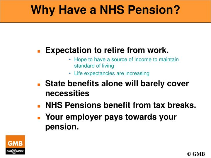 Why Have a NHS Pension?