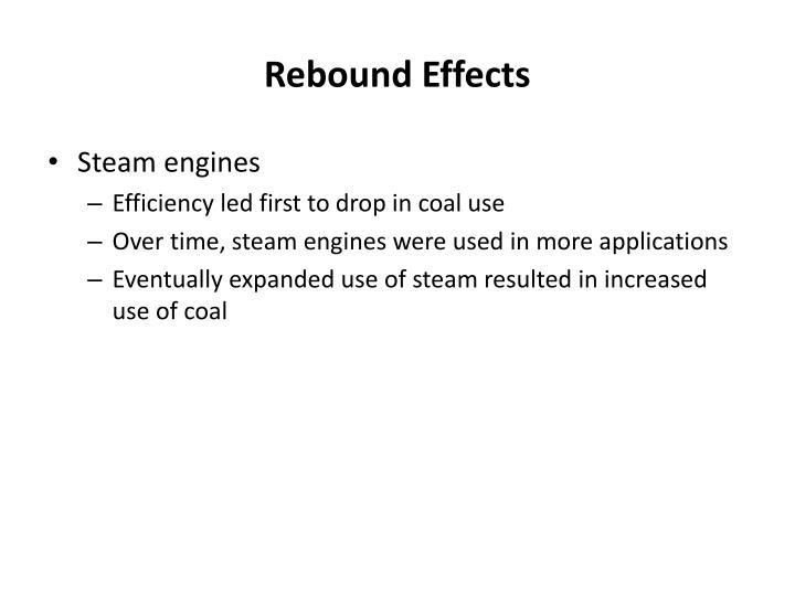 Rebound Effects