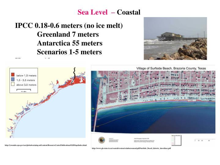 Sea Level  –