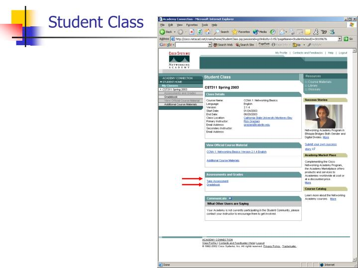 Student Class
