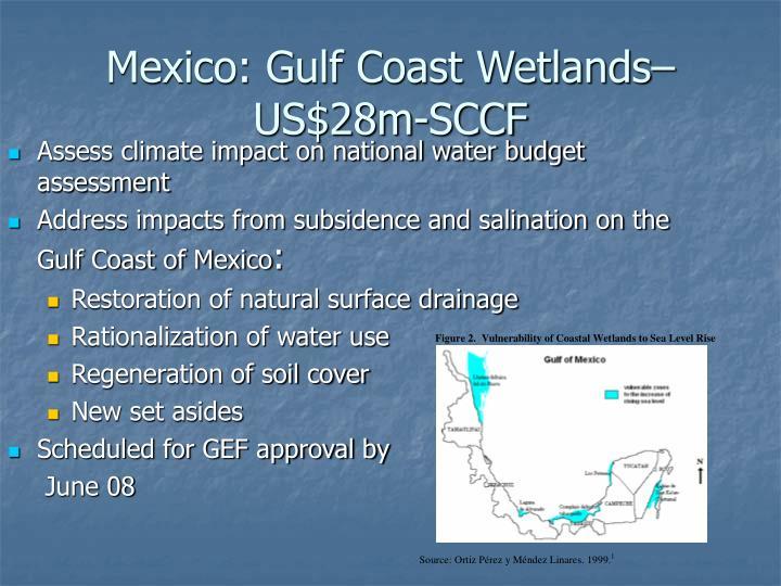 Mexico: Gulf Coast Wetlands– US$28m-SCCF